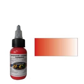Colore Rosso cremisi trasparente  - 1
