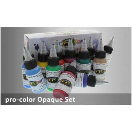 Hansa Pro-Color kit 11 colori coprenti + 1 cleaner  - 1