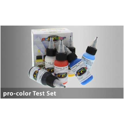 Hansa Pro-Color kit 5 colori coprenti + 1 cleaner  - 1
