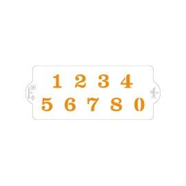 Stencil numeri  - 4