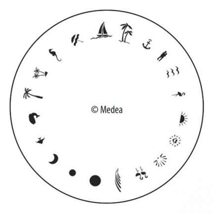 Tropical - Medea Design Wheel  - 1