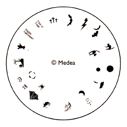 Halloween - Medea Design Wheel  - 1