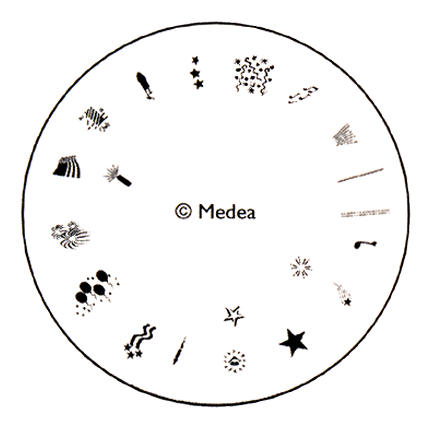 4th Of July - Medea Design Wheel  - 1