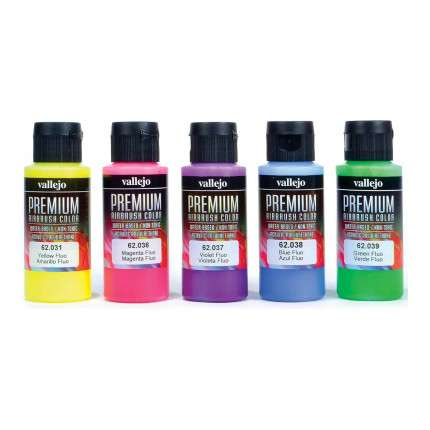 Premium Paint Set Fluorescent  - 1