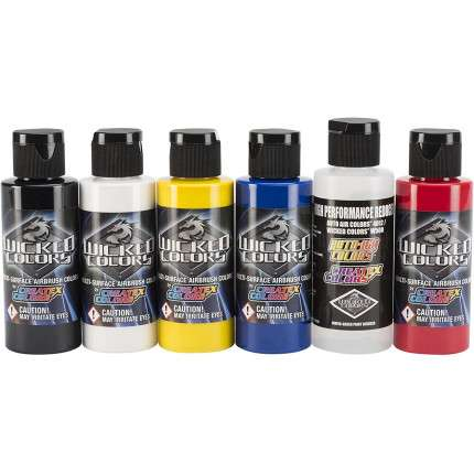 Wicked Colors Primary kit 5 Colori + 1 Reducer  - 2