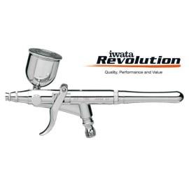 Aerografo HP-TR1 Revolution doppia azione (duse 0.3mm)  - 1