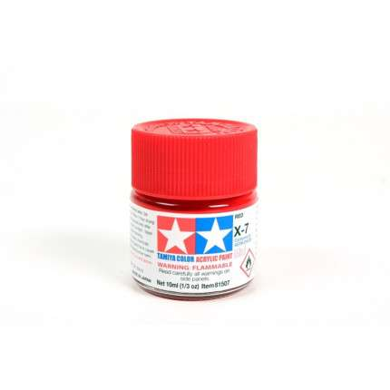Colore X-7 Red lucido  - 1